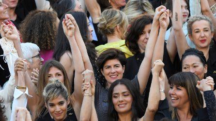 La marcia delle donne a Cannes 2018
