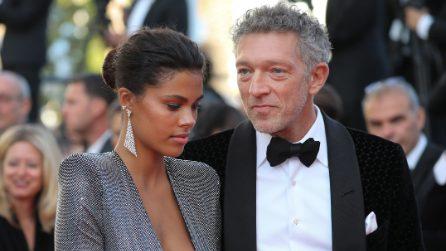 Tina Kunakey e Vincent Cassel per la prima volta insieme a Cannes