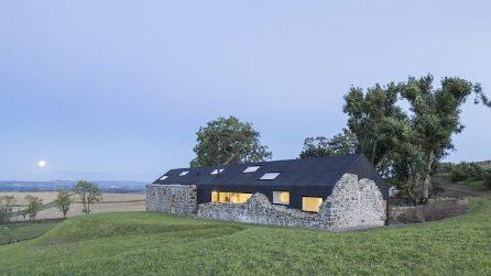 Da antica fattoria a residenza moderna: il restyling è stupefacente