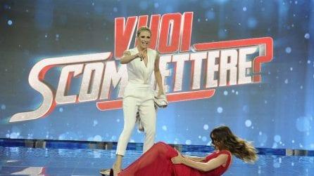 """I look di Michelle Hunziker e Aurora Ramazzotti per il debutto di """"Vuoi scommettere?"""""""