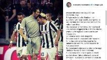 L'omaggio dei campioni del calcio a Gigi Buffon