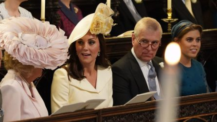 Il look riciclato di Kate Middleton per il matrimonio di Harry e Meghan