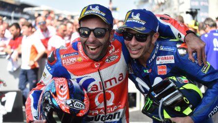MotoGP, a Le Mans vince Marquez. Petrucci e Rossi sul podio