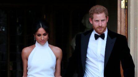 Il secondo abito da sposa di Meghan Markle