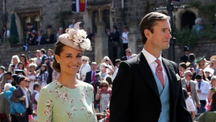 Il look di Pippa Middleton al matrimonio di Harry e Meghan
