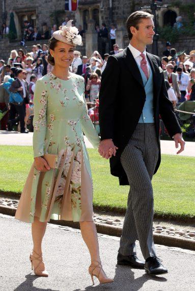 7de007e83bed Il look di Pippa Middleton al matrimonio di Harry e Meghan