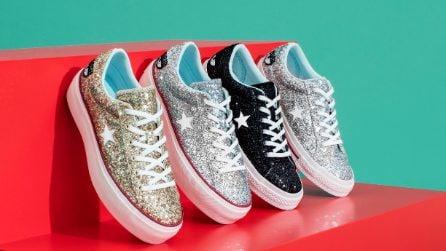 La collezione di sneakers firmata da Chiara Ferragni x Converse