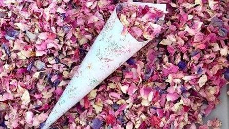 11 modi per riciclare i fiori secchi