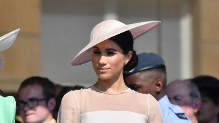 Il look di Meghan Markle per i 70 anni del principe Carlo