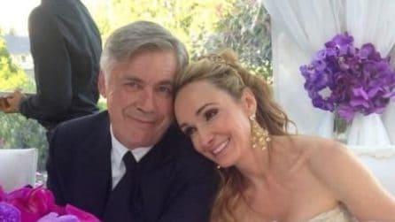 Le foto di Carlo Ancelotti e Mariann Barrena McClay