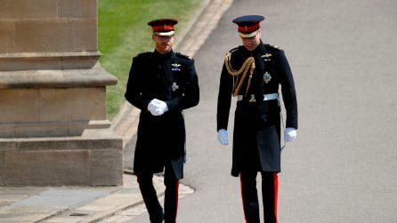Il look del principe Harry al Royal Wedding