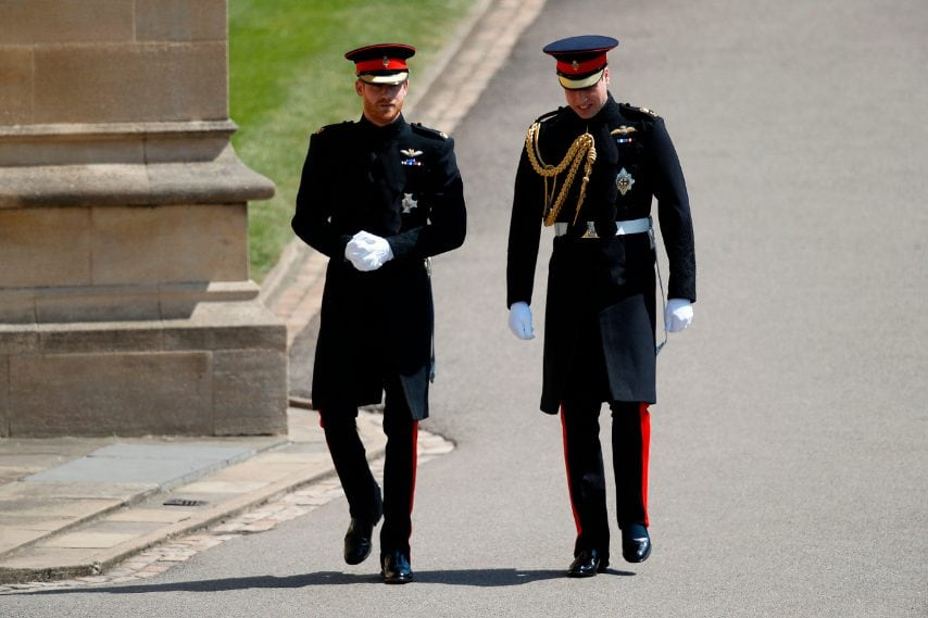 Il look del principe Harry al Royal Wedding 2f586bb7c153