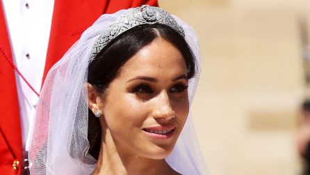 Royal Wedding: lo chignon spettinato di Meghan Markle