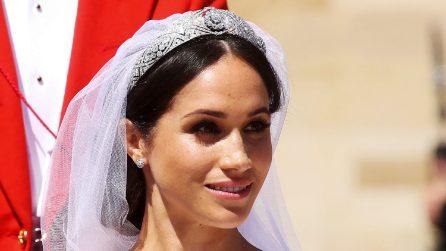 Royal Wedding: lo chignon spettinato di Meghan Markle