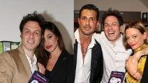 Le foto di Belen, Fabrizio Corona e Silvia Provvedi allo stesso evento