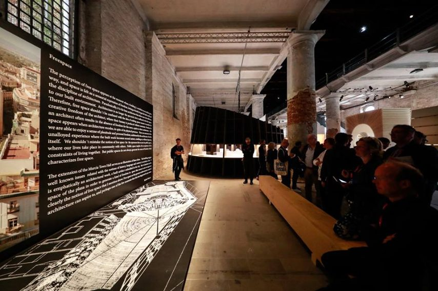 Freespace alle Corderie dell'Arsenale
