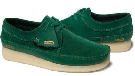 La collezione di scarpe Supreme x Clarks Originals