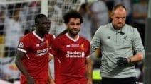 Salah infortunato, dalla finale esce in lacrime