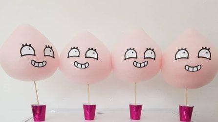 I cotton-candy a forma di animale spopolano sui social