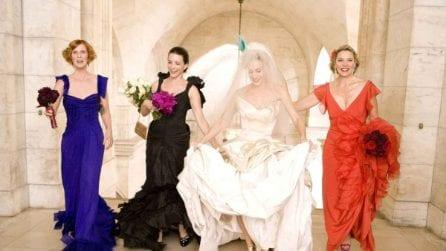 L'abito da sposa di Carrie Bradshaw