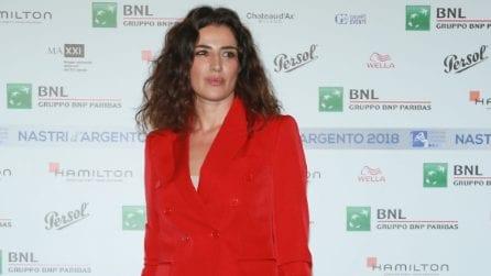I look delle star alla serata di annuncio candidature Nastri d'Argento 2018