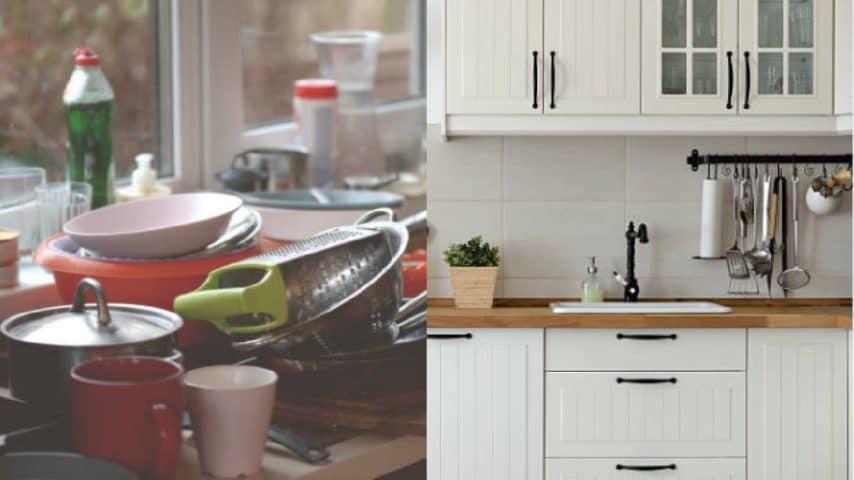 Cucina sempre disordinata e piena di oggetti: ecco alcune ...