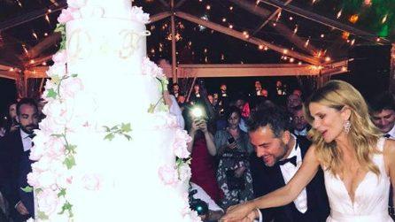 Dalla torta alla location: il matrimonio di Daniele Bossari e FIlippa Lagerback