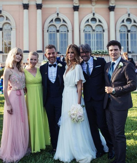 38951d0e3c58 I look degli invitati al matrimonio di Daniele Bossari e Filippa Lagerback