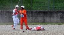 MotoGP, i primi soccorsi a Michele Pirro
