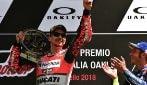 MotoGP, Lorenzo vince il Gp d'Italia, primo trionfo con la Ducati