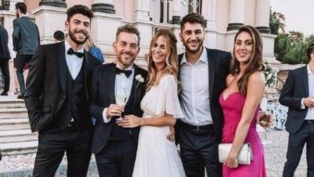 Il look di Cecilia Rodriguez al matrimonio di Daniele Bossari e Filippa Lagerback