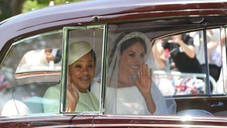Le foto di Doria Ragland al matrimonio del principe Harry e Meghan Markle