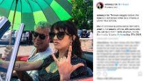 Le foto di Asia Argento e Anthony Bourdain