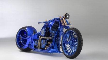Harley-Davidson Softail Slim S Blue Edition, la moto più cara del mondo