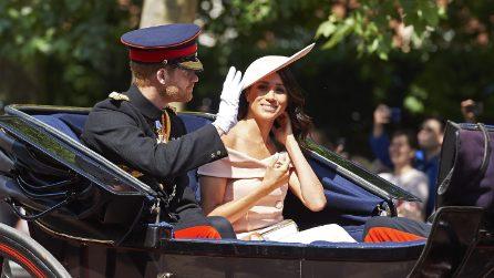 Meghan Markle per la prima volta al compleanno della regina Elisabetta