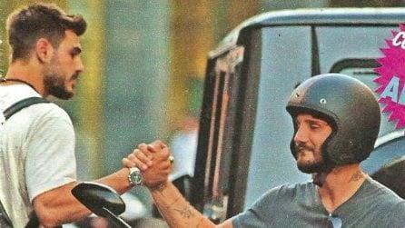 Stefano De Martino e Francesco Monte insieme, gli ex delle Rodriguez ancora amici