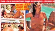 Paola Perego sfoggia primo topless dell'estate 2018