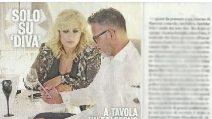 Tina Cipollari e Kikò restano ottimi amici, l'opinionista a una festa della famiglia Nalli