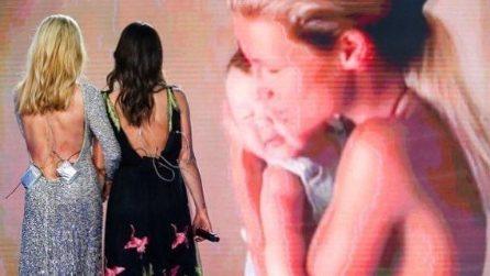 """I look di Aurora Ramazzotti e Michelle Hunziker per l'ultima puntata di """"Vuoi Scommettere?"""""""