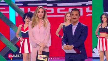 """I look di Ilary Blasi e Belén Rodriguez a """"Balalaika"""""""