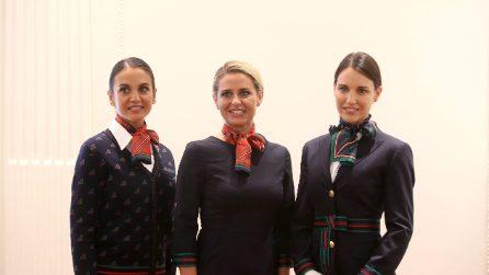 Le nuove divise Alitalia di Alberta Ferretti
