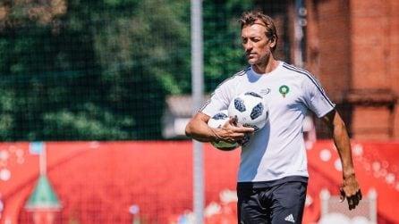 Hervé Renard, le foto dell'allenatore più bello dei Mondiali