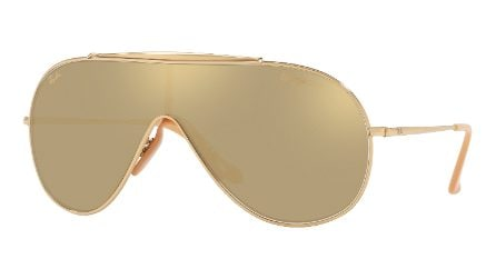 Ray-Ban Golden Wings, gli occhiali da sole in oro