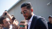 Le immagini di Emre Can a Torino, visite mediche e firma con la Juve