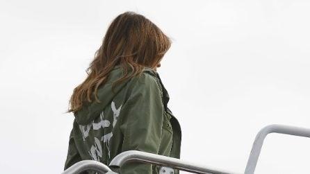 Melania Trump indossa la giacca di Zara