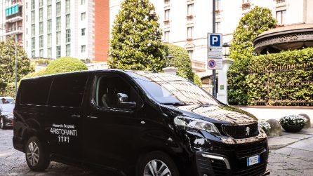 """Chef Borghese sceglie Peugeot Traveller per il suo programma """"4 Ristoranti"""""""