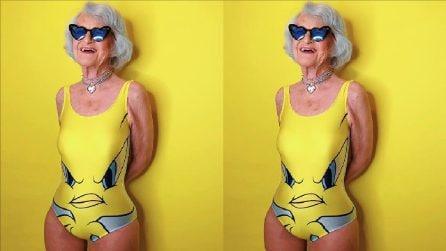La 90enne più famosa e glamour di Instagram