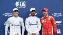 Doppietta Mercedes in Francia, terza pole position in stagione per Hamilton