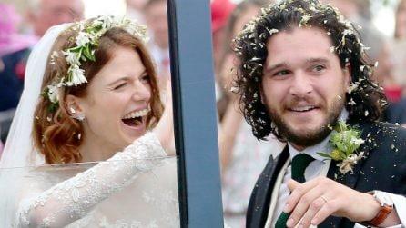 L'abito da sposa di Rose Leslie per le nozze con Kit Harington