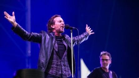 Le foto dell'I-Days: record di presenze per The Killers e Pearl Jam